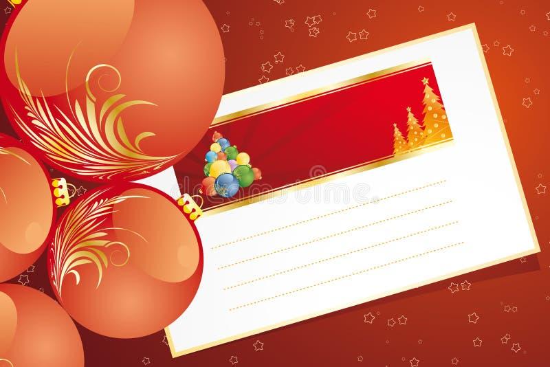 Christmas greetings stock images