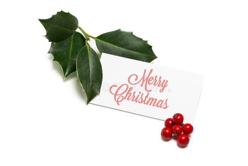 Christmas greetings royalty free stock photo
