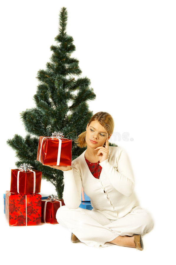 Download Christmas Gril stock image. Image of person, christmas - 1412697