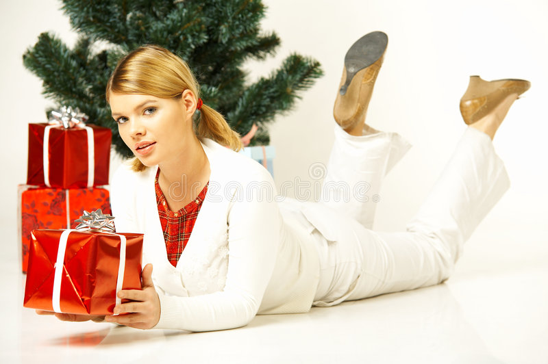 Download Christmas Gril Stock Photos - Image: 1412703