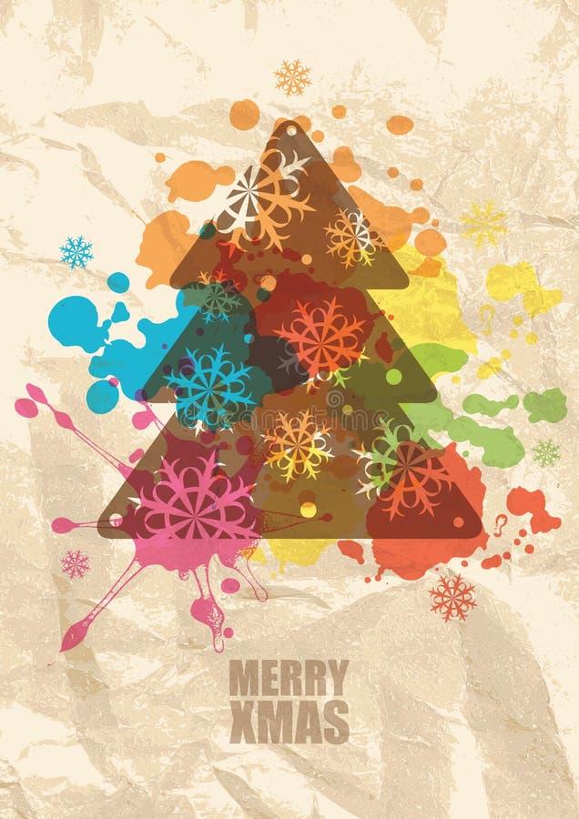 Download Christmas Grunge Background Stock Photo - Image: 22008910