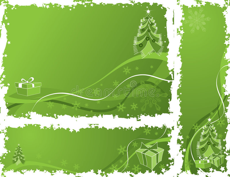 Download Christmas Grunge Frame, Elements For Design, Vector Stock Vector - Illustration of winter, holiday: 1461306