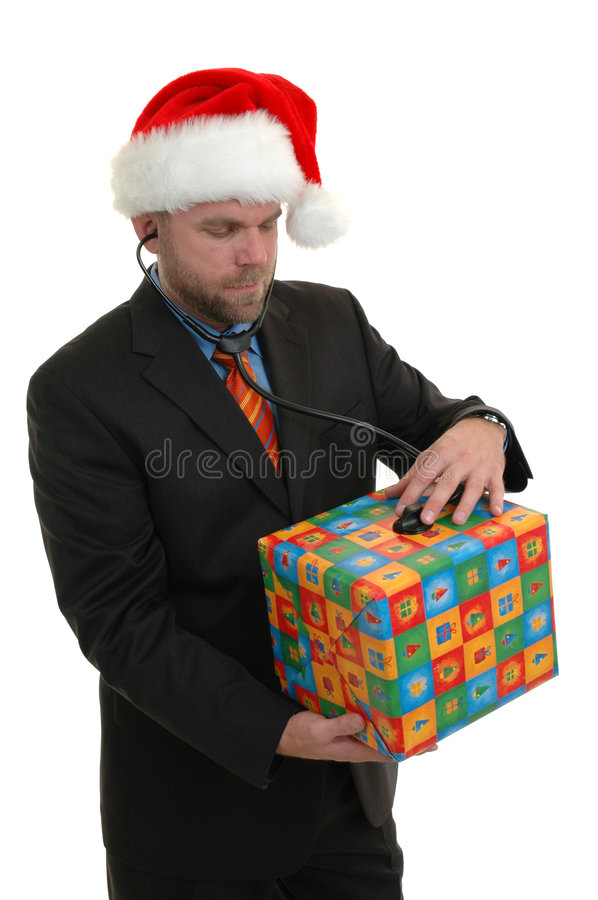Download Christmas Guess stock image. Image of talking, package - 1522779