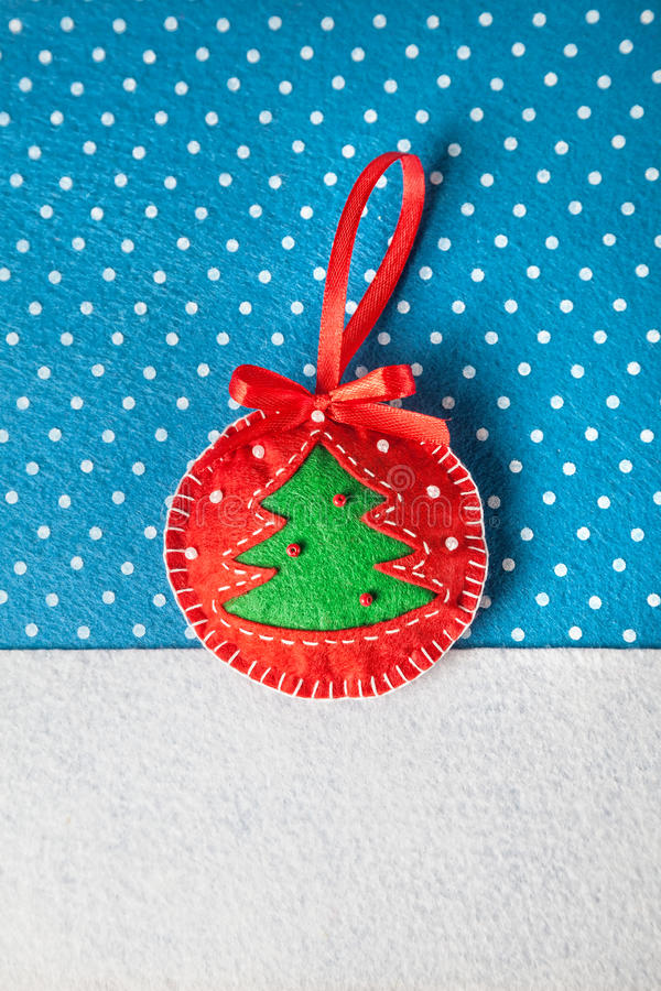 Download Christmas Handmade Felt Toy Stock Image - Image: 35742509