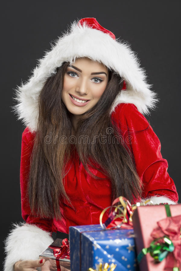 Christmas happiness royalty free stock images