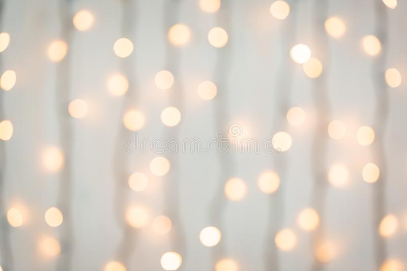 Christmas and New Year blurred defocused bokeh background stock photos
