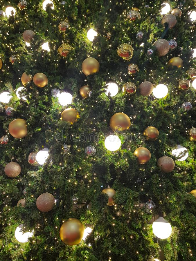 Christmas and Happy new years light bulb decorate. For backgrounds royalty free stock photos