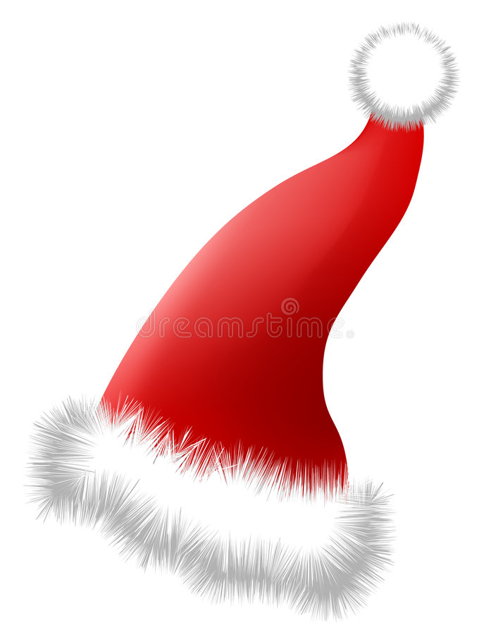 Download Christmas Hat (AI Format Available) Stock Vector - Image: 690891