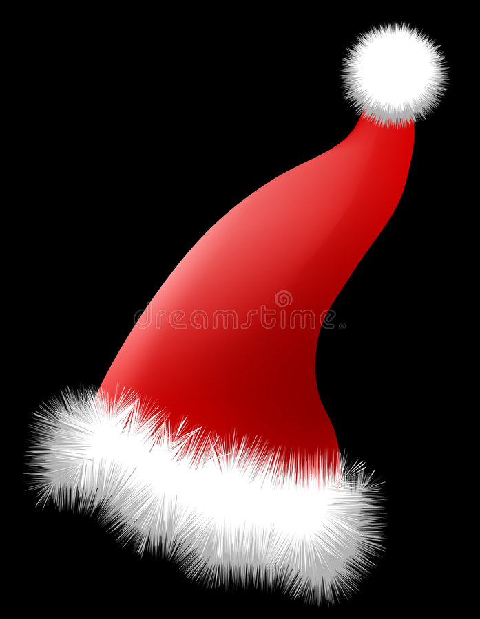 Download Christmas Hat (AI Format Available) Stock Images - Image: 690894