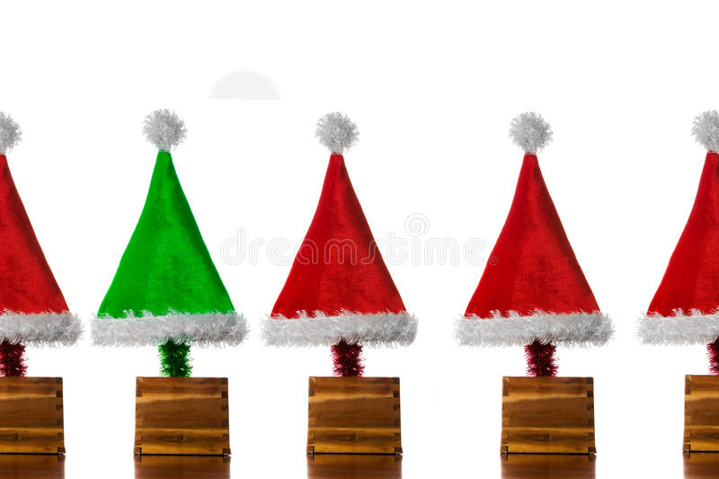 Download Christmas Hat Trees stock photo. Image of tree, festive - 11449922