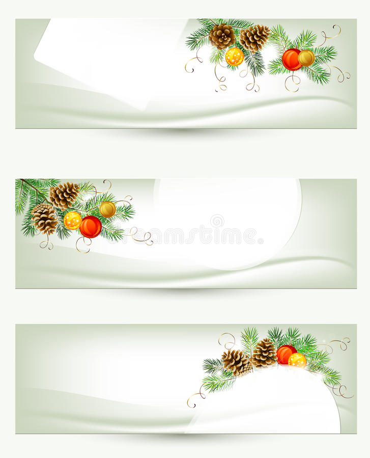 Christmas Header Stock Images