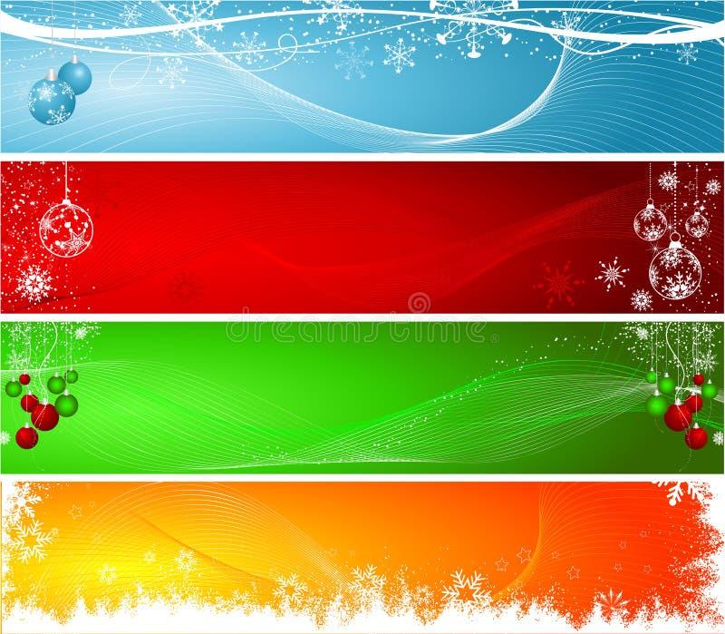 Download Christmas headers stock vector. Image of star, xmas, snowflake - 6754742