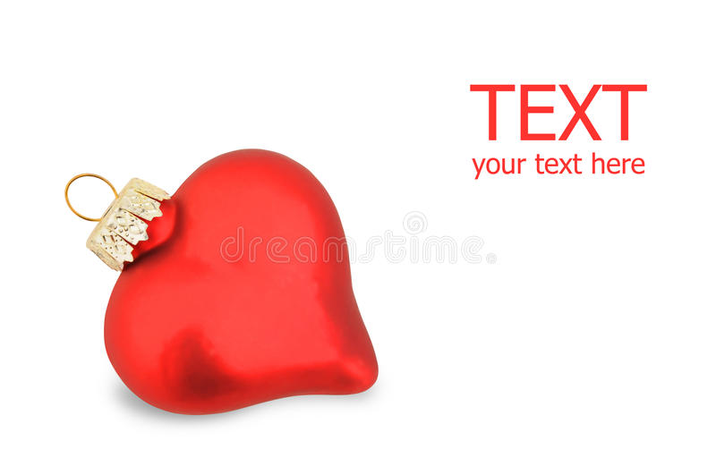 Download Christmas heart stock photo. Image of giving, gift, claus - 10770742