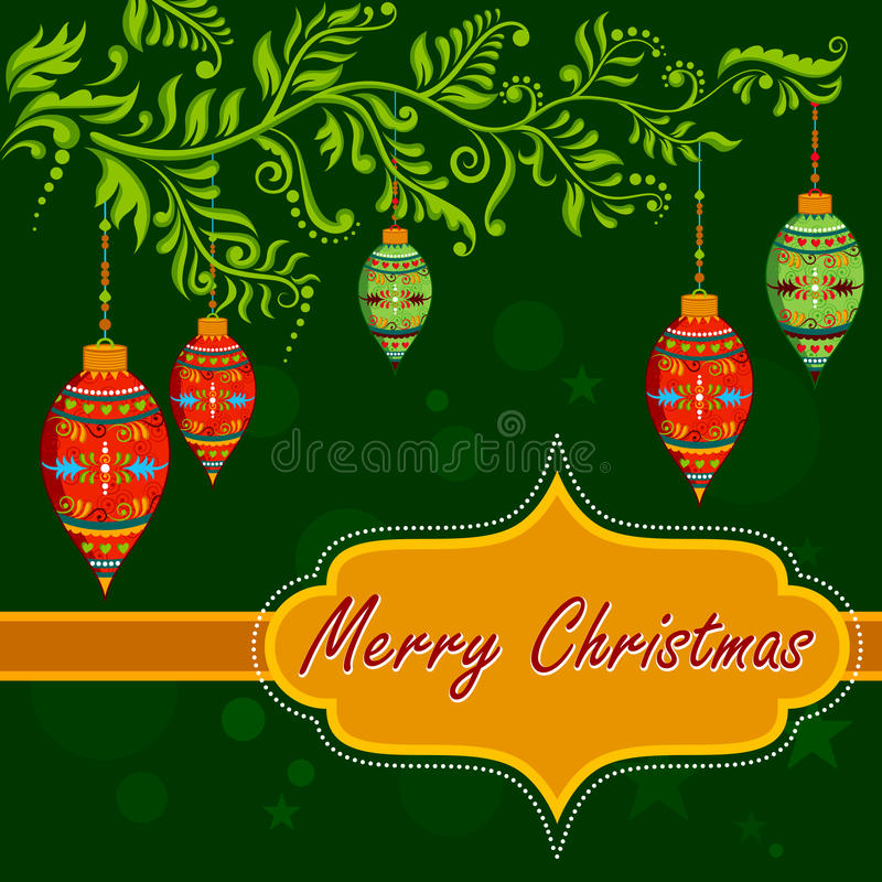 Christmas holiday background stock illustration