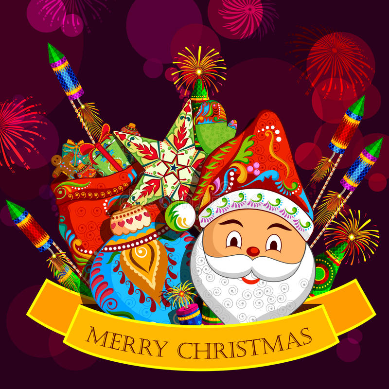 Christmas holiday background royalty free illustration