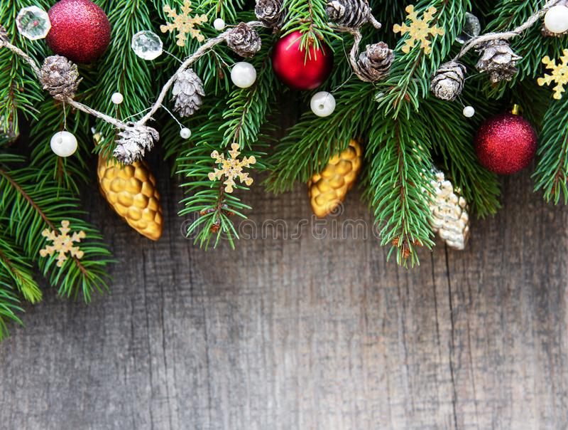 Christmas holiday decoration stock photography