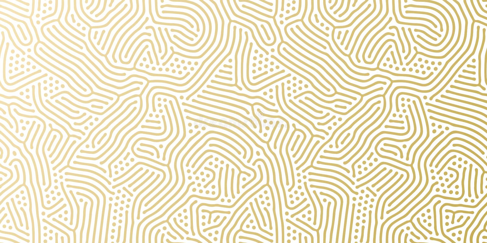 Christmas holiday golden background template for greeting card or gift wrapping paper design. Vector gold abstract pattern for Chr vector illustration