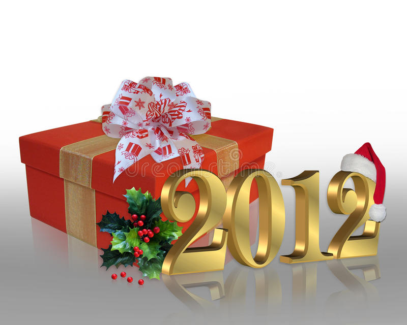 Christmas Holidays 2012 royalty free stock images