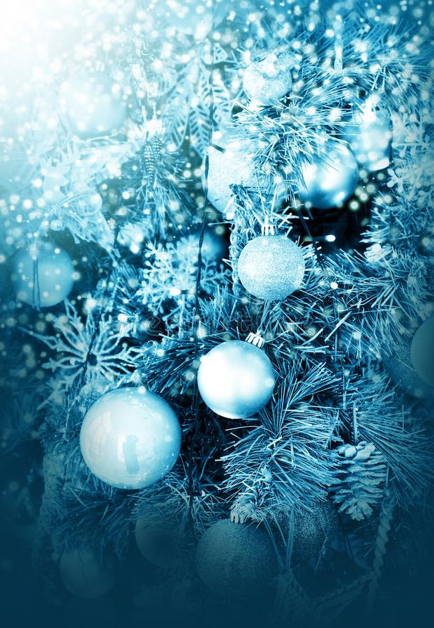 Christmas holidays decorations stock photo
