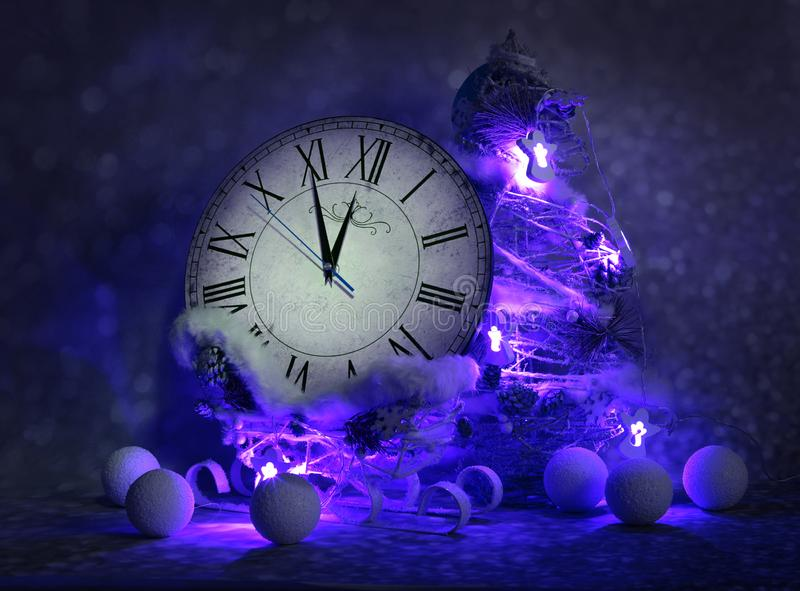 Christmas holidays decorations royalty free stock photography