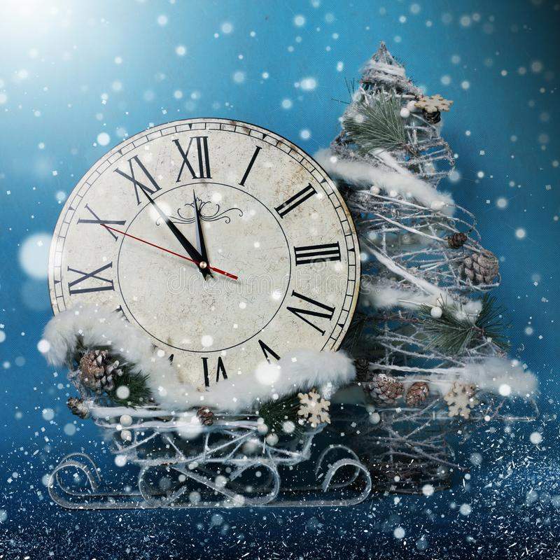 Christmas holidays decorations stock images