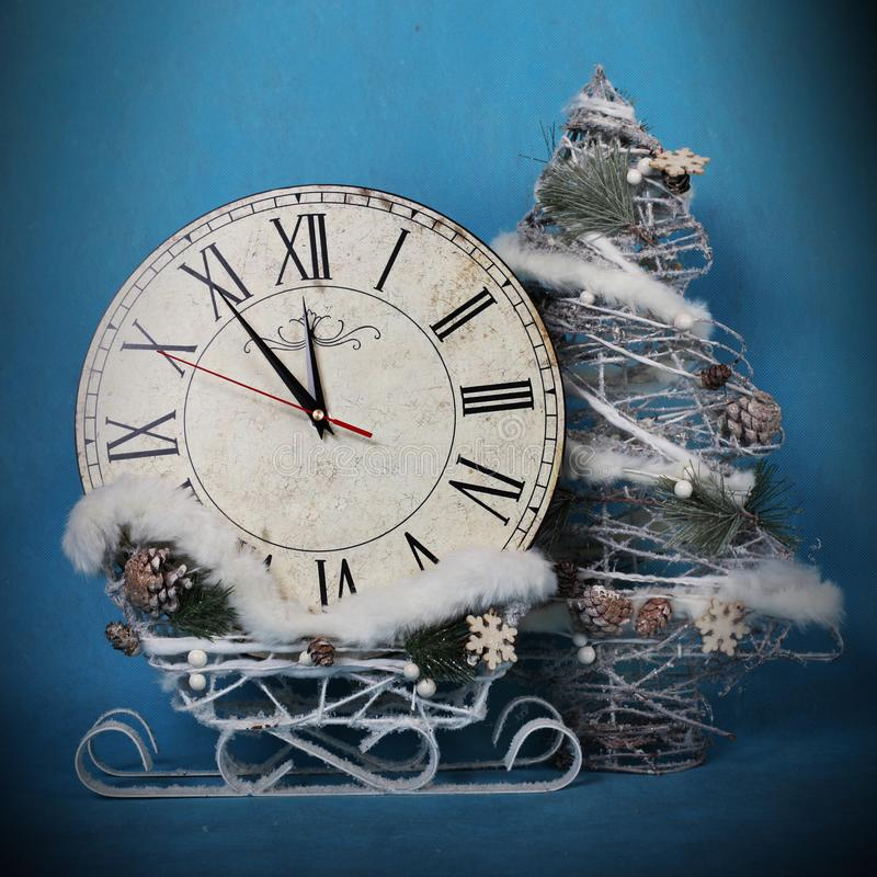 Christmas holidays decorations stock image
