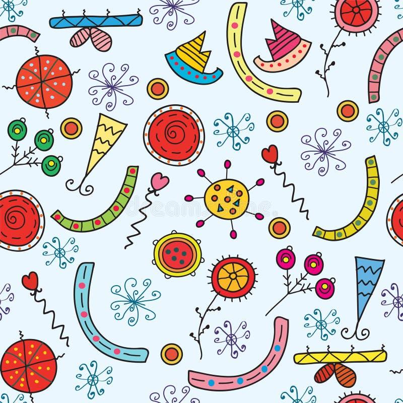 Christmas Holidays Seamless Pattern Royalty Free Stock Photo