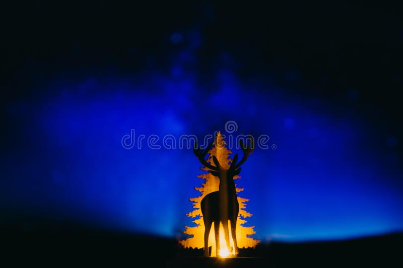 Christmas holidays xmas reindeer december background royalty free stock images