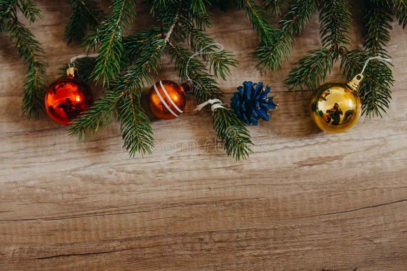 Christmas holidays xmas tree december background royalty free stock photo
