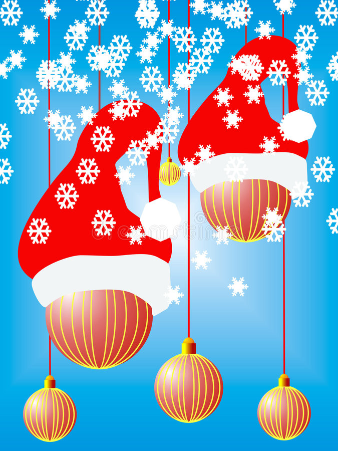 Christmas holidey stock illustration