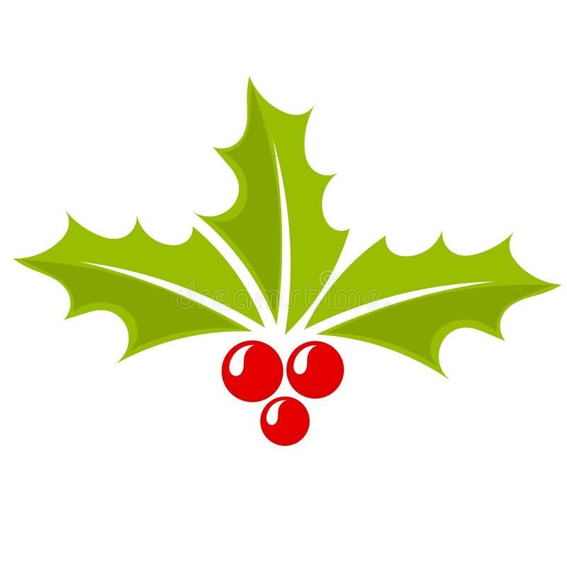 christmas holly berry icon stock vector illustration of free holly berry clip art free holly berry clip art
