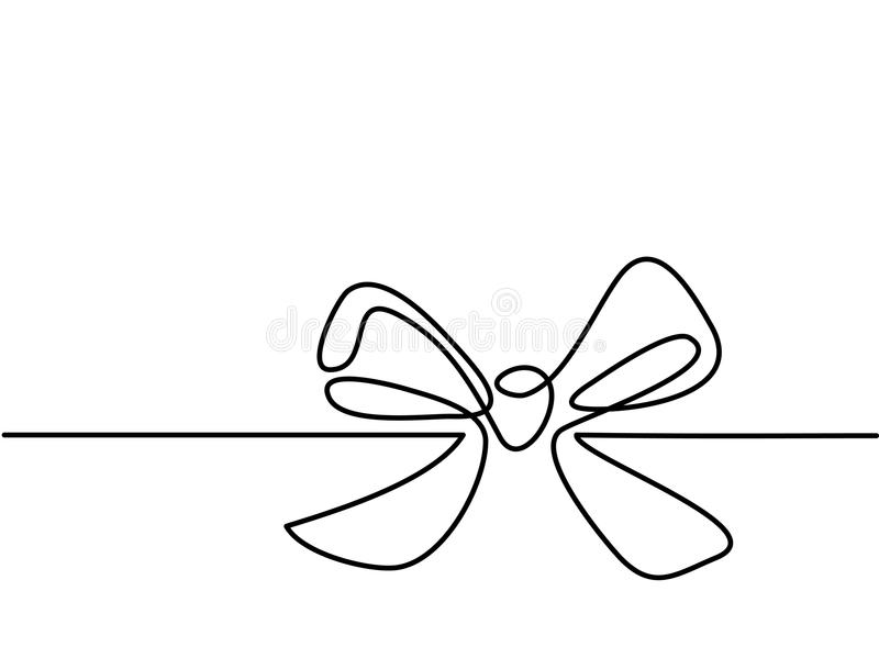 Christmas Holly Decoration Bow-knot vector illustration