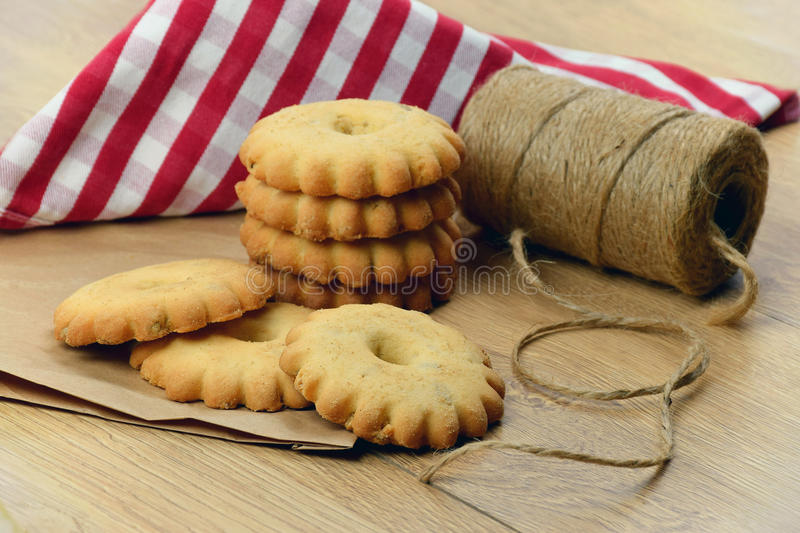 Christmas. Homemade pastries with cinnamon, vanilla, peanuts. royalty free stock images