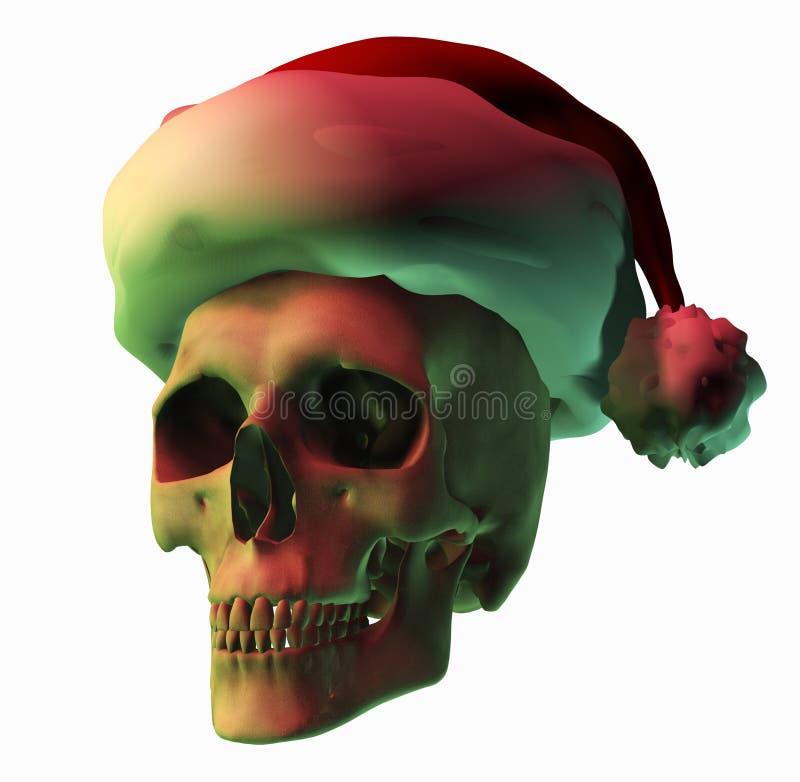 Download Christmas Horror stock illustration. Image of xmas, deadhead - 44120