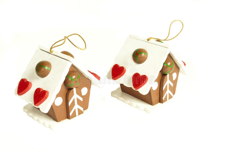 Download Christmas houses stock photo. Image of houses, hearts - 11643132