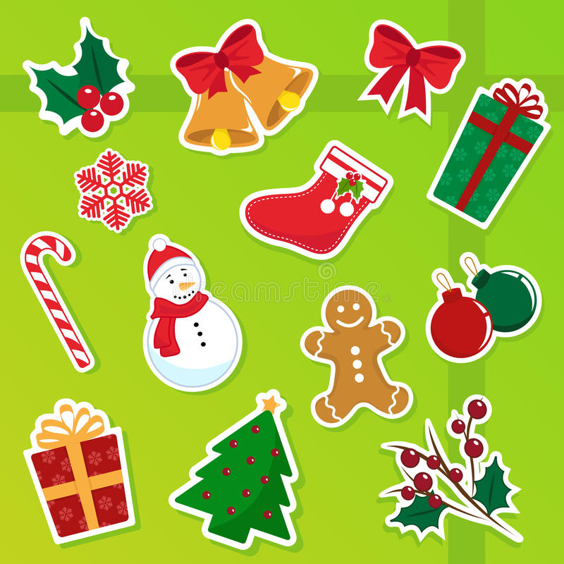 Download Christmas Icons Stock Image - Image: 20123001