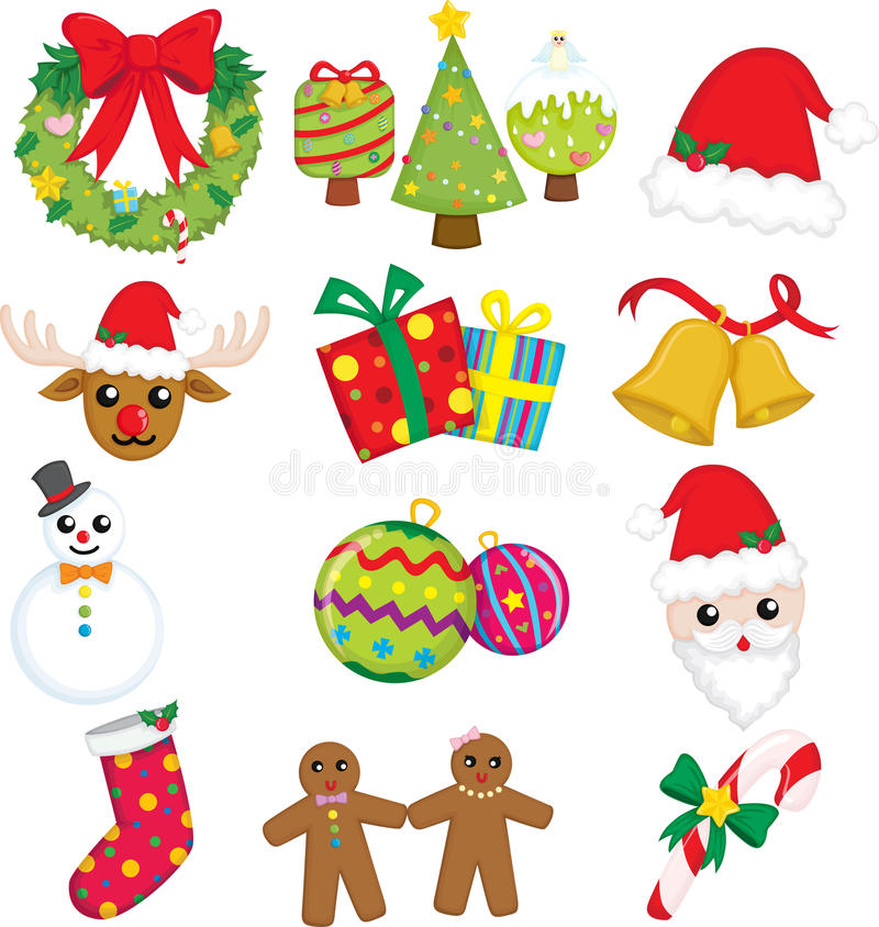 Download Christmas Icons Stock Images - Image: 21437684