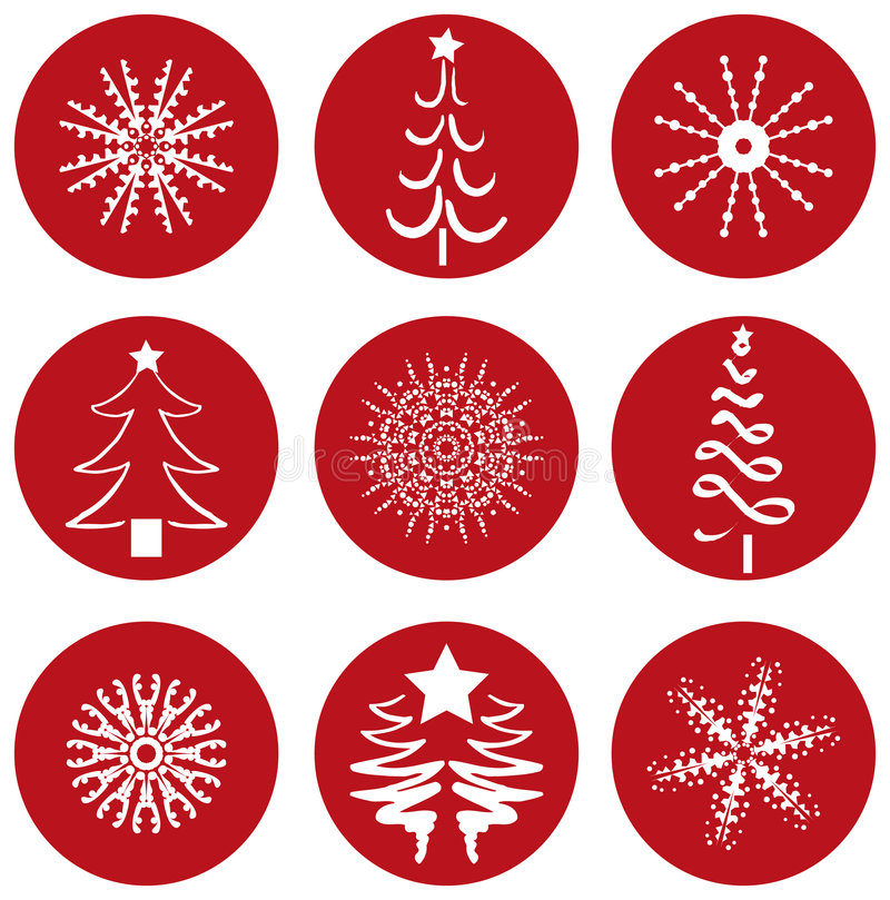 Download Christmas Icons Icons stock vector. Image of snowing, party - 993057
