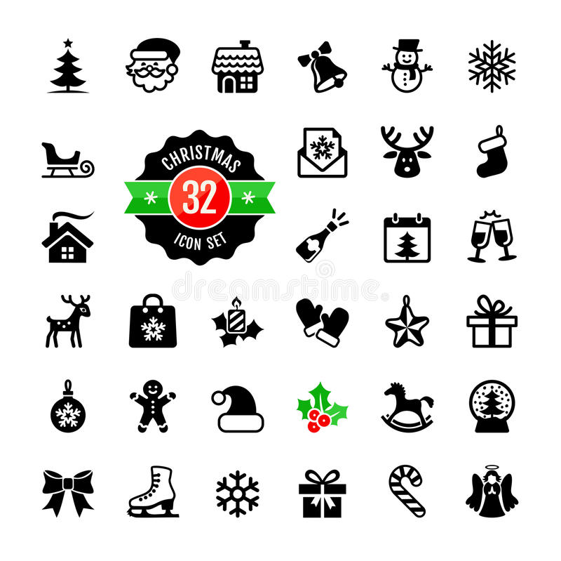 Download Christmas Icons Set. Vector Stock Vector - Image: 35497867
