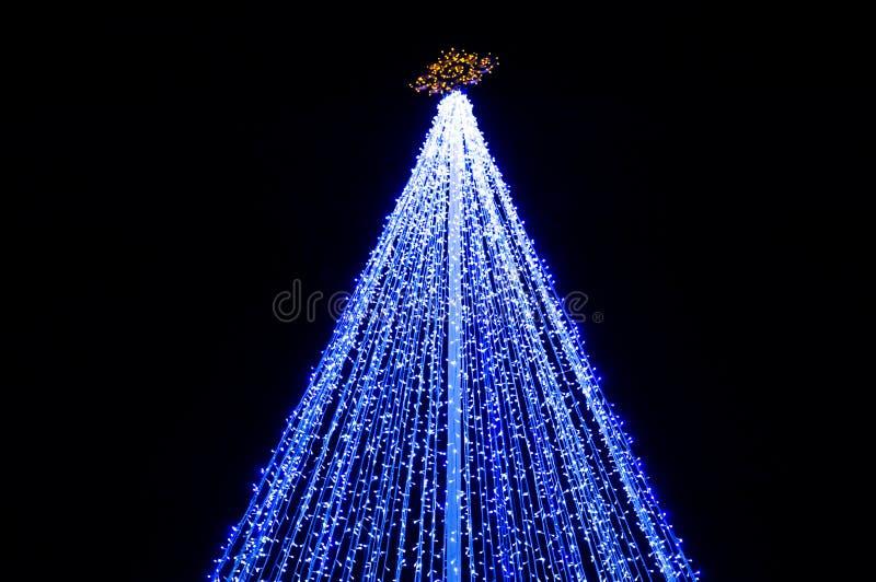 Christmas illumination. In the beijing royalty free stock image