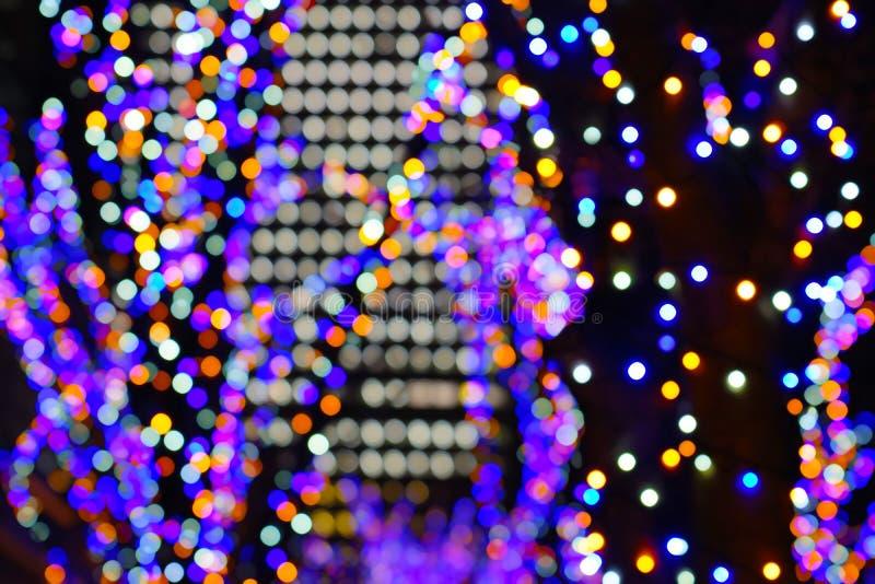 Christmas illuminations. Shooting location : Yokohama-city kanagawa prefecture royalty free stock photos