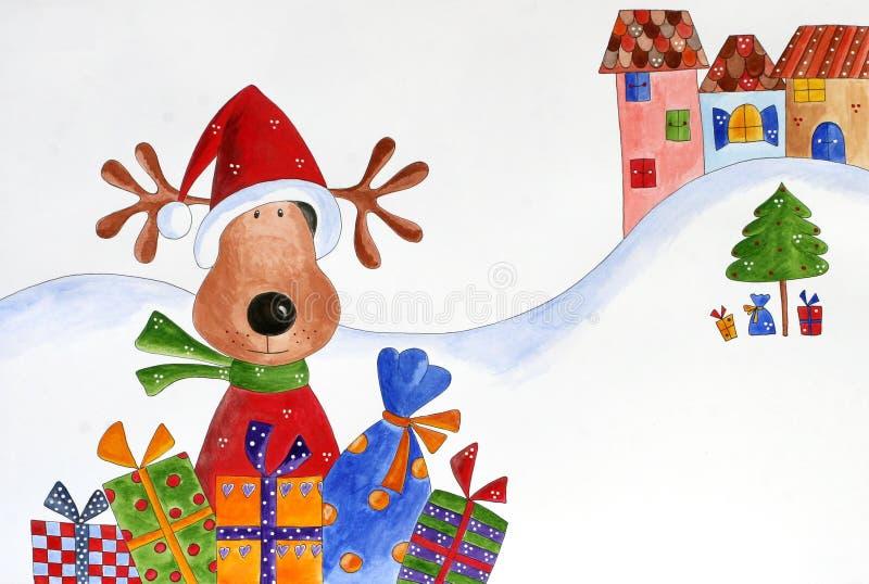 Download Christmas illustration stock illustration. Illustration of happy - 25090551