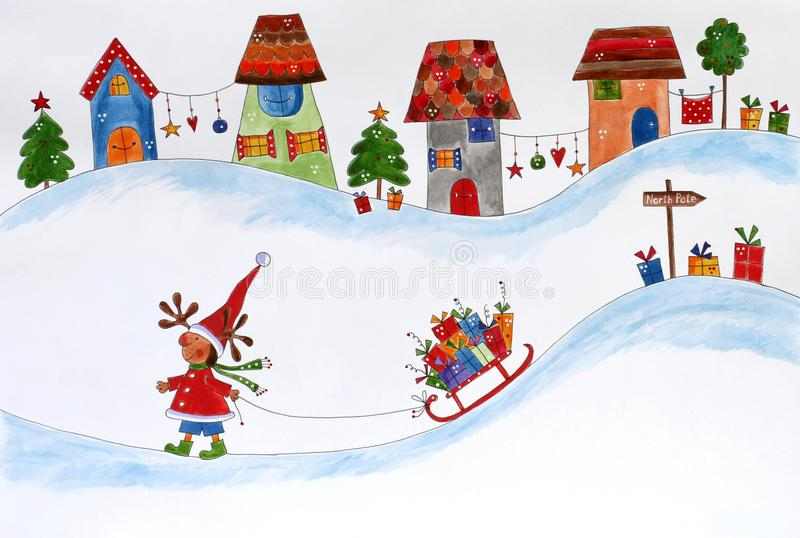 Download Christmas Illustration Royalty Free Stock Photography - Image: 25090557