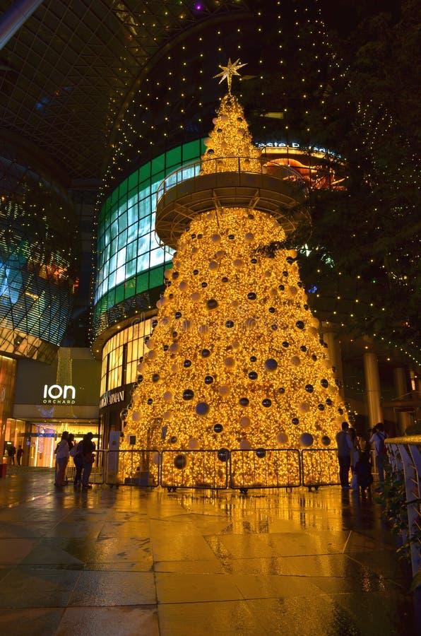 Christmas at ION Orchard royalty free stock photo