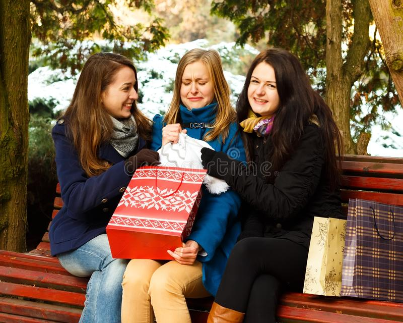 Download Christmas Isn't About Giving? Stock Photo - Image: 35804292