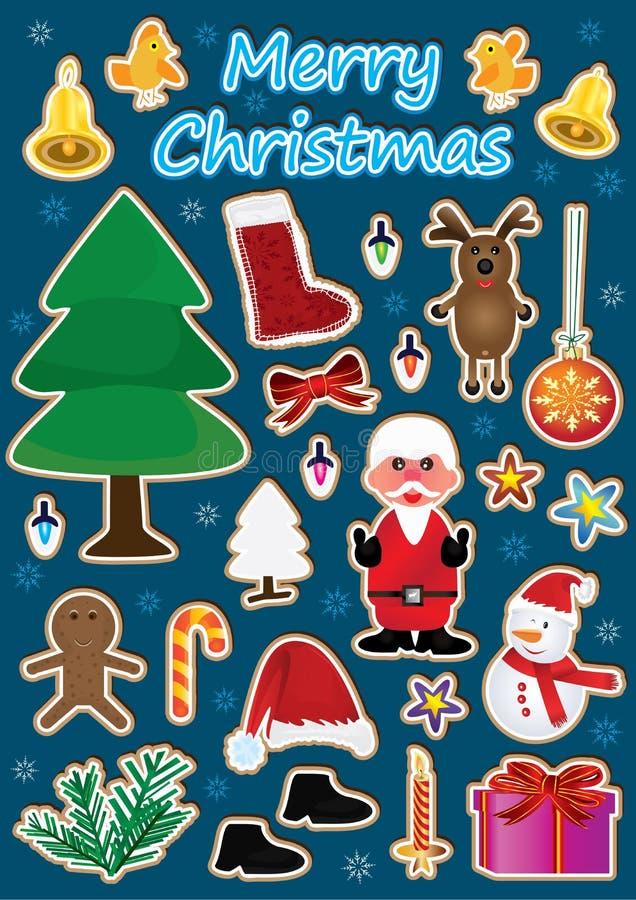 Christmas Item set_eps vector illustration