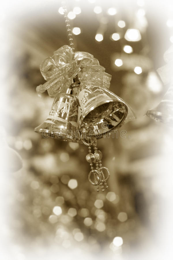 Christmas jingle bells stock images