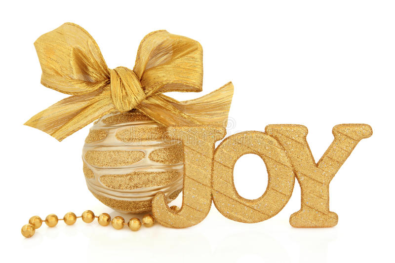 Christmas Joy Royalty Free Stock Photography