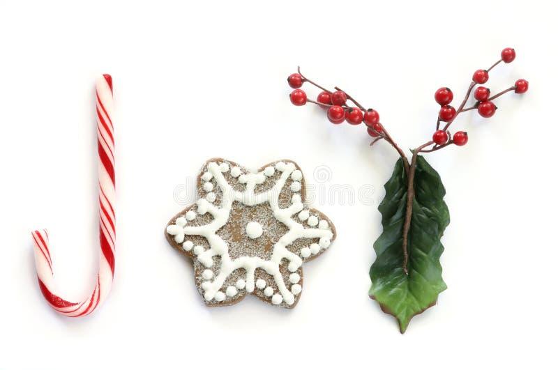 Christmas Joy (without border) royalty free stock photography