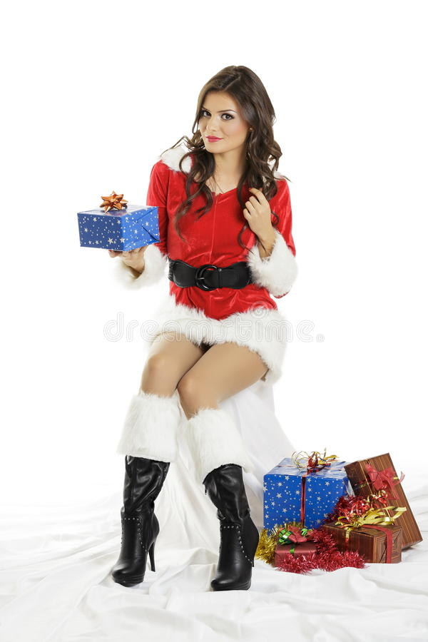 Christmas joy stock image
